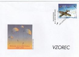GOOD SLOVENIA FDC 2014 - Airplanes - Slovenia