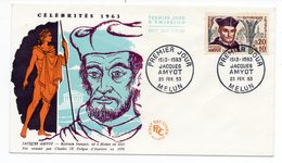 FDC France 1963 - Jacques Amyot - YT 1370 - Melun - FDC