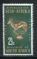 AFRIQUE DU SUD- Y&T N°278- Oblitéré (springboks) - Oblitérés