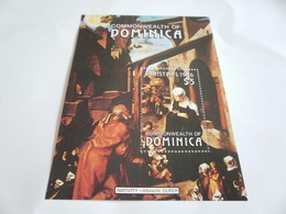 Miniature Sheet Perf Christmas 1986 Durer - Dominican Republic