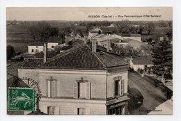 - CPA TESSON (17) - Vue Panoramique 1912 (Côté Saintes) - Collection Louis Richard - - France