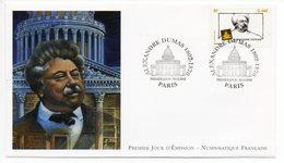 FDC France 2002 - Alexandre Dumas - YT 3536  Paris - FDC