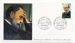 FDC France 2002 - Emile Zola : J'accuse... YT 3524  Paris - 2000-2009