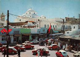 Tunisie - BAB SOUIKA (Tunis) : Les Coupoles De Sidi Mahrez - Automobiles - Tunisia