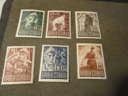 AUTRICHE  1947 Serie Neuve * - 1945-60 Oblitérés