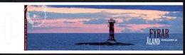 Aland Finland 296/99 Carnet Phare - Lighthouses