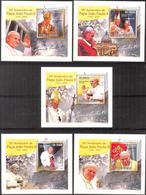 A{063} Sao Tome & Principe 2010 Pope John Paul II 5 S/S Deluxe MNH** - Sao Tome And Principe