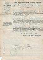 PARIS (14e) - ORDRE De COMPARAITRE Devant Le CONSEIL De REVISION Le 30 Octobre 1872 ! - Militaire - A Voir ! - Documents Historiques