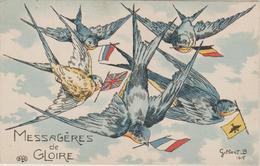 MESSAGERES DE GLOIRE ILLUST. GILBERT.B. - Weltkrieg 1914-18