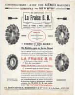 La Fraise B. B. / Année 1925 / Ch. Bonnaffous, Bozonnet & Cie / 36-42 Rue Blanqui SAINT-OUEN - Publicités