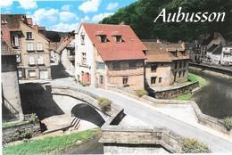AUBUSSON  - Belle Demeure (architecte B. CHIRAC, Pont De La Terrade Sur La Creuse, Au Coeur Des Quartiers Anciens - Aubusson