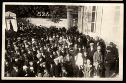 51 - CHAMPIGNY SUR VESLE - 528 - Carte Photo - Inauguration Du Monument Aux Morts 14-18 - Champigny