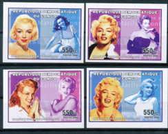 NB - [34835]SUP//ND/Imperf-c:40e-N° 2426/29, ND/imperf - Célébrités Du Monde - Marilyn Monroe. - République Démocratique Du Congo (1997 -...)