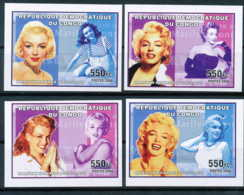 NB - [34835]SUP//ND/Imperf-c:40e-N° 2426/29, ND/imperf - Célébrités Du Monde - Marilyn Monroe. - Democratische Republiek Congo (1997 - ...)