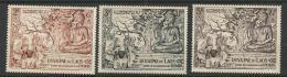 """Laos YT 30 à 32 """" Bouddha """" 1956 Neuf** MNH - Laos"""