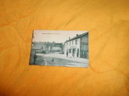 CARTE POSTALE ANCIENNE NON  CIRCULEE DATE ?../ VIENNE LE CHATEAU.- RUE DES PONTS...PUBLICITE BYRRH.. - Autres Communes