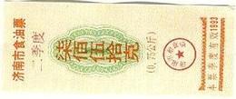 China (CUPONES) 0.75 Kilos 1993 Jinan (Shangdong) Cn 37 J1.00750 Uniface UNC - China