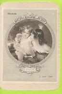 Chromos Lithographie   Prenom MARIE  117mmx171mm N052 - Süsswaren