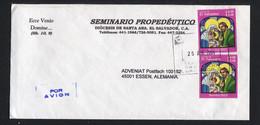 El Salvador, 2004,  To Essen,  Germany - El Salvador