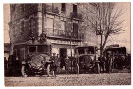 4677 -,Issoire ( 63 ) - Café-Hotel Terminus ( Face à La Gare ) - Station Des Autobus - Guilloux Phot. à Iss. - - Issoire
