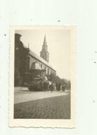 Oedelem - Kleine Foto Met Legertank Voor De Kerk; Einde Oorlog  1940-45 ? - Beernem