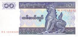 10 Kyatts Myanmar - Myanmar