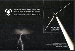 Aland Finland 304 Poles, Glaciers, éolienne, électricité - Electricité