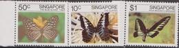 Singapore - 1982 Insects Butterflies Schmetterlingen Farfalle MNH - Singapore (1959-...)