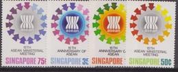Singapore - 1982 15 ASEAN Set MNH - Singapore (1959-...)