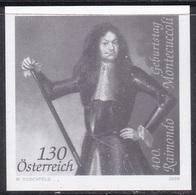 Black Print, Austria Sc2193 Military Leader Raimondo Montecuccoli (1609-80) - Militaria