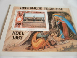 Miniature Sheet Perf Christmas 1983 - Togo (1960-...)