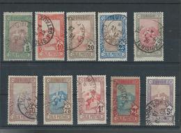 Timbres Colis Posteaux N° 1 à 10 Valeur 8 € Obl - Tunisia