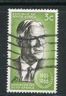 AFRIQUE DU SUD- Y&T N°307- Oblitéré - Afrique Du Sud (1961-...)