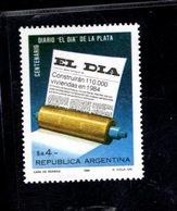 771359018 1984 SCOTT 1465 POSTFRIS  MINT NEVER HINGED EINWANDFREI  (XX) -  CENTENARY OF EL DIA NEWSPAPER - Neufs