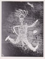 Photographie Anonyme Vintage Snapshot Peinture Graffiti Mur - Unclassified