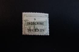 INDOCHINE N°90* Mh - Indochina (1889-1945)