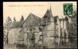 51 - CHAPELAINE (Marne) - L'Eglise Antique Datant Du XIIIe Siècle - France