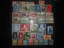 Sarre Lot De 40 Timbres Obliteres - Collections, Lots & Series