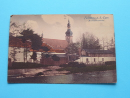 Falkenau A. D. EGER - Blechschmiedmühle ( Anna Adler ) Anno 1925 ( See / Zie Foto's ) ! - Tchéquie