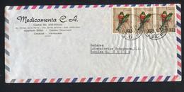 """Venezuela, 1969, To Switzerland """" Birds"""" - Venezuela"""