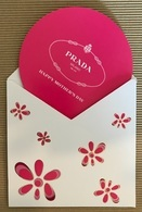 CC Carte Parfumée 'PRADA HAPPY MOTHERS DAY' Perfume Card CANADA! - Modern (from 1961)