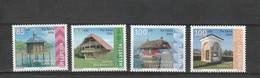 Suisse Neuf **  2004  N° 1804/1807   Pour La Patrie,  Petites Constructions - Suisse