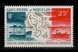 SPM - YV PA 38 N** Voyage Du General De Gaulle Cote 27,30 Euros - Airmail