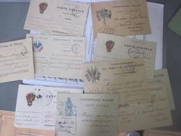 10 Cartes Correspondance Militaire D'un Soldat 14/18 - 1914-18