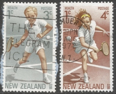 New Zealand. 1972 Health Stamps. Used Complete Set. SG 987-988 - New Zealand