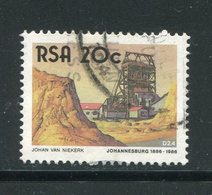 AFRIQUE DU SUD- Y&T N°611- Oblitéré (bateaux) - Afrique Du Sud (1961-...)