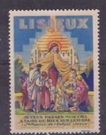 France, Vignettes -  Lisieux - Commemorative Labels