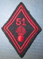 Losange De Bras  51° Régiment D'Infanterie - Esercito