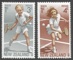 New Zealand. 1972 Health Stamps. MH Complete Set. SG 987-988 - Unused Stamps