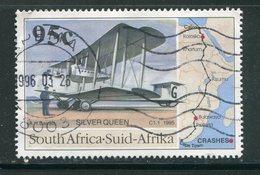 AFRIQUE DU SUD- Y&T N°868- Oblitéré (avions) - Oblitérés